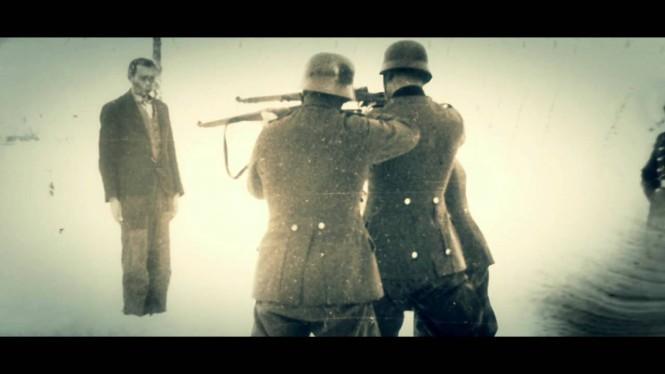 rozstrzelanie przez Niemców - zapal znicz pamięci