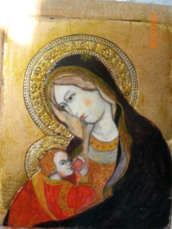 Wanda Bartmińska - Matka Boska Karmiąca