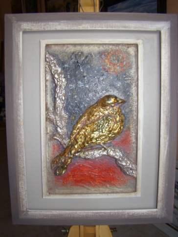 Awangarda Ptak Maria Jaśkiewicz płaskorzeźba (Custom)