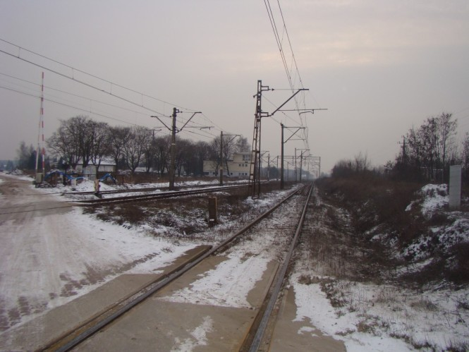 Przejazd na Sremskiej Mosina