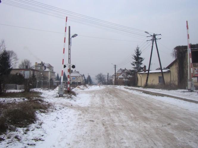 Przejazd na Sremskiej w Mosinie