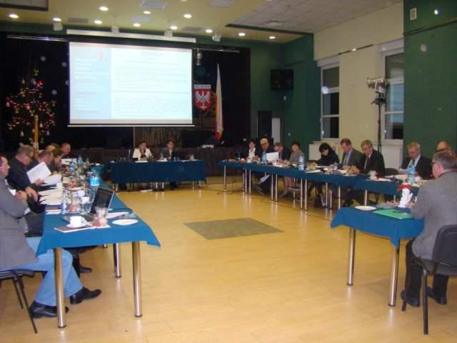 Sesja budżetowa w Mosinie