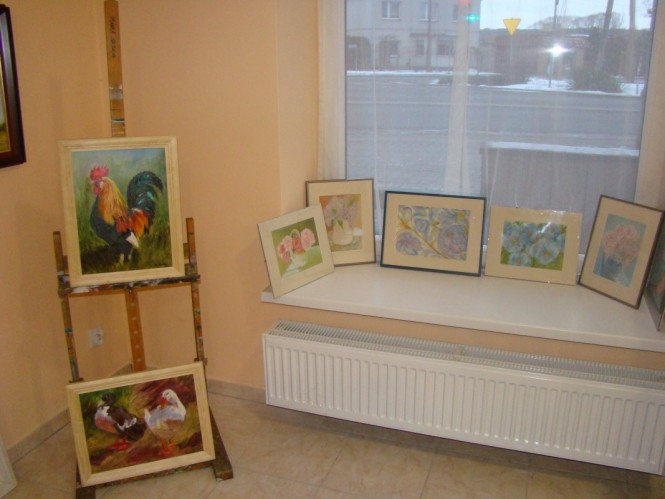 galeria lokalnych twórców - widok na ulicę