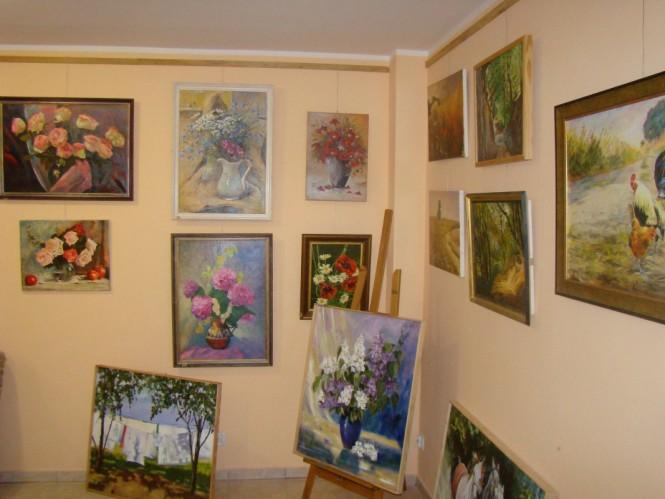 galeria lokalnych twórców - wystawa obrazów