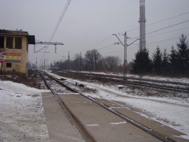 przejazd kolejowy mosina