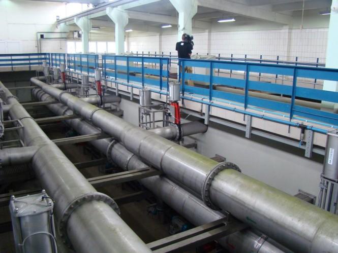 Stacja uzdatniania wody w Mosinie