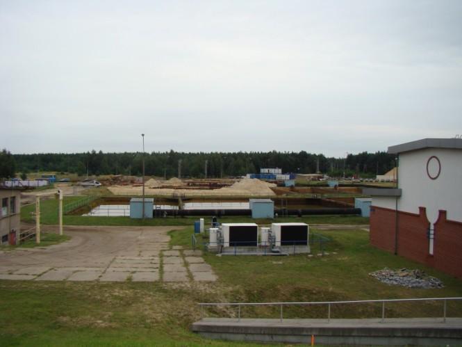 Aquanet zbiorniki wody w Mosinie