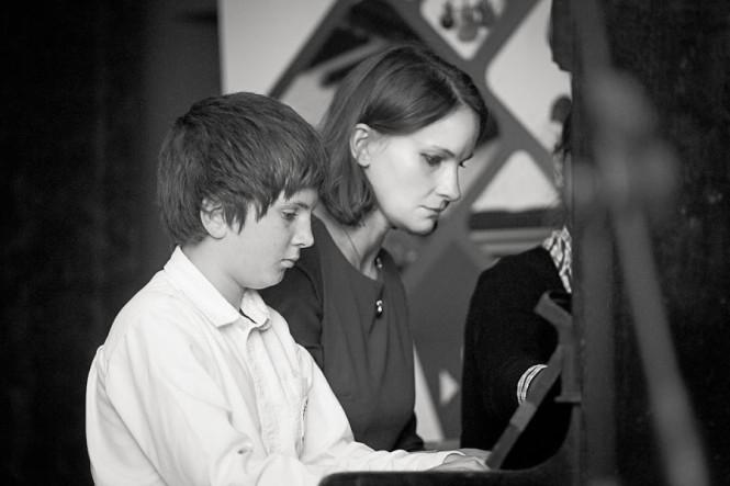 Hanna Piasna - Kaczmarek z chłopcem