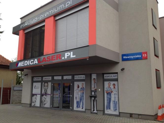 budynek medicalaser i Eskulap Premium
