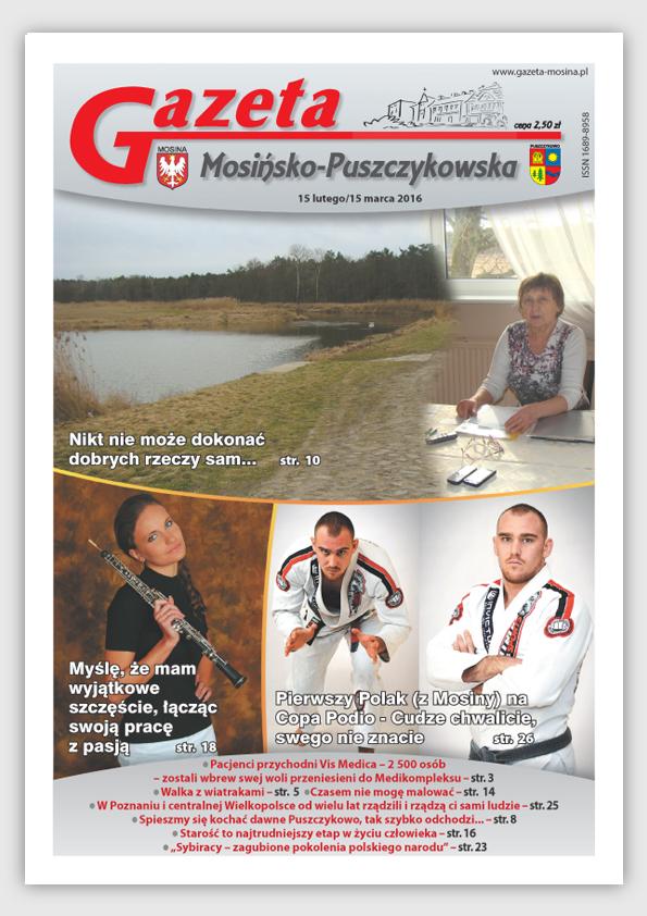 Luty - marzec - wydanie Gazety Mosińsko-Puszczykowskiej