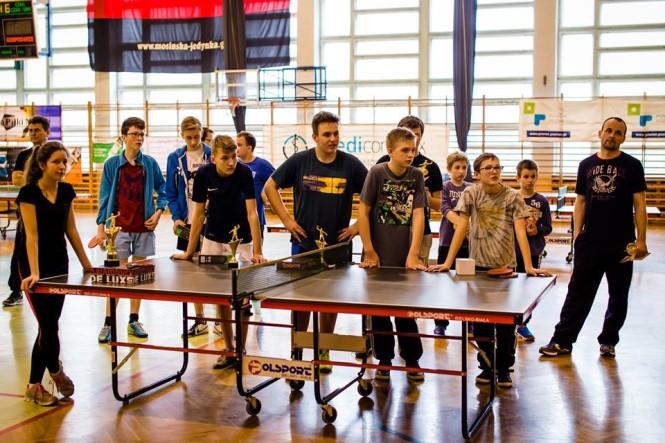 IV amatorski turniej tenisa stołowego