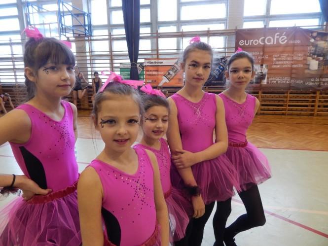 aerobik w Mosinie - dzieci