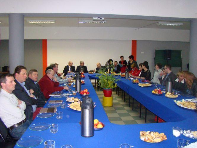 Spotkanie radnych Mosiny i Puszczykowa