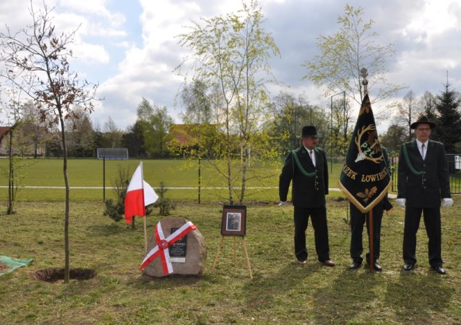 Pomnik poświęcony majorowi WP Wacławowi Foltynowi