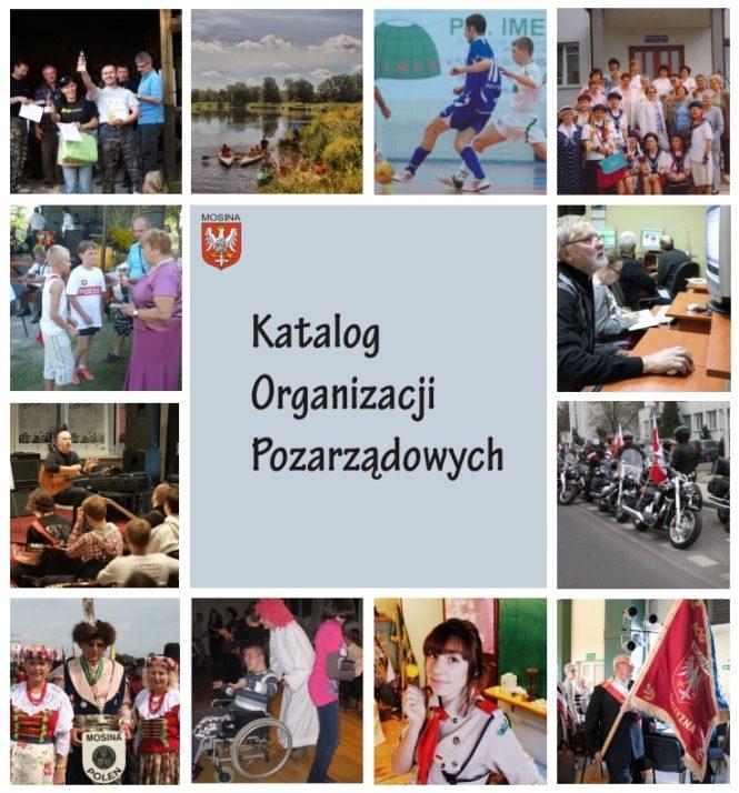 Katalog Organizacji Pozarządowych Mosina 2016 okładka