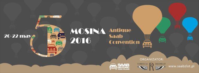 V Zjazd Zabytkowych Saabów w Mosinie