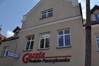 Redakcja Gazety Mosińsko-Puszczykowskiej, przy ul. Wawrzyniaka 9 w Mosinie