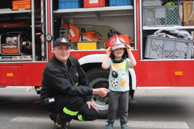 strażacy na dniach Mosiny