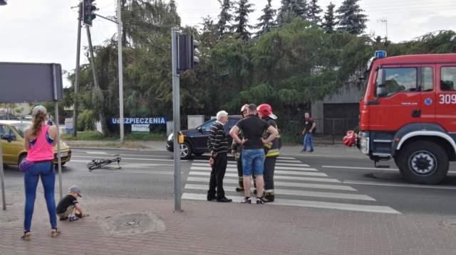 wypadek w Mosinie