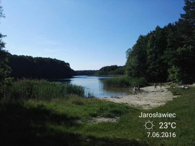 Jezioro Jarosławieckie latem