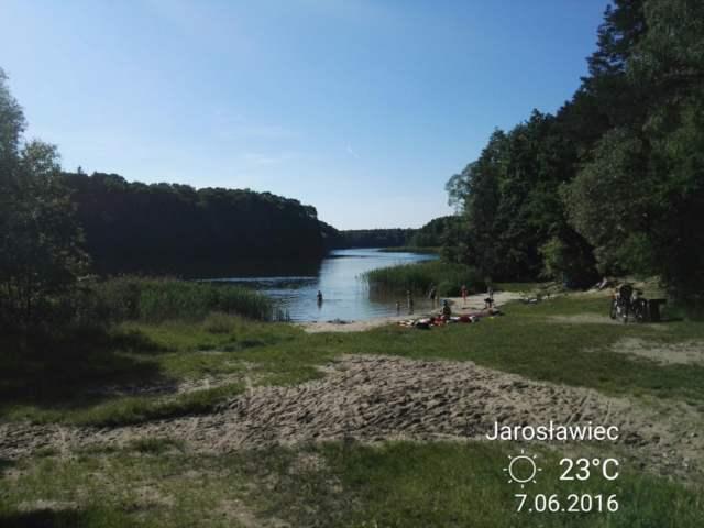 Jezioro Jarosławieckie w Jarosławcu