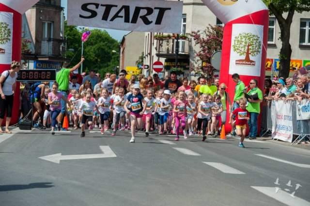 bieg młodzieżowe w Mosinie