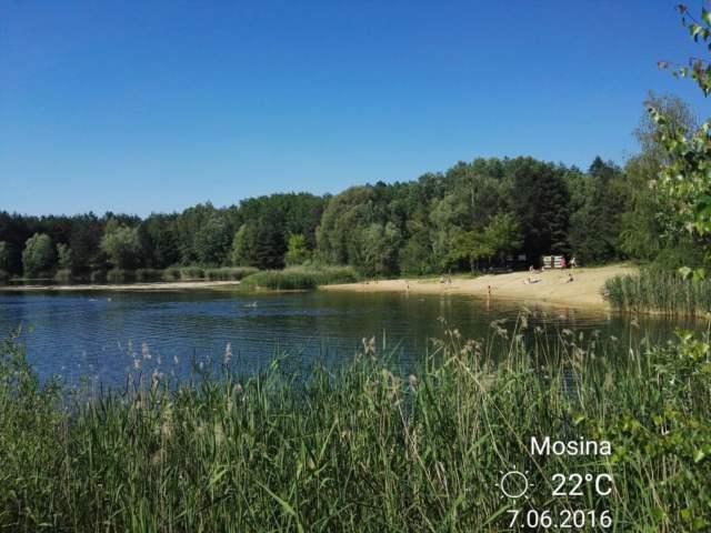 kąpielisko Glinianki w Mosinie
