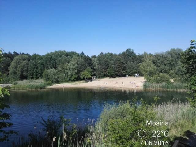 kąpielisko na Gliniankach w Mosinie