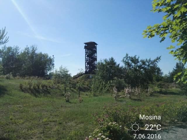 wieża widokowa w Mosinie na Pożegowie