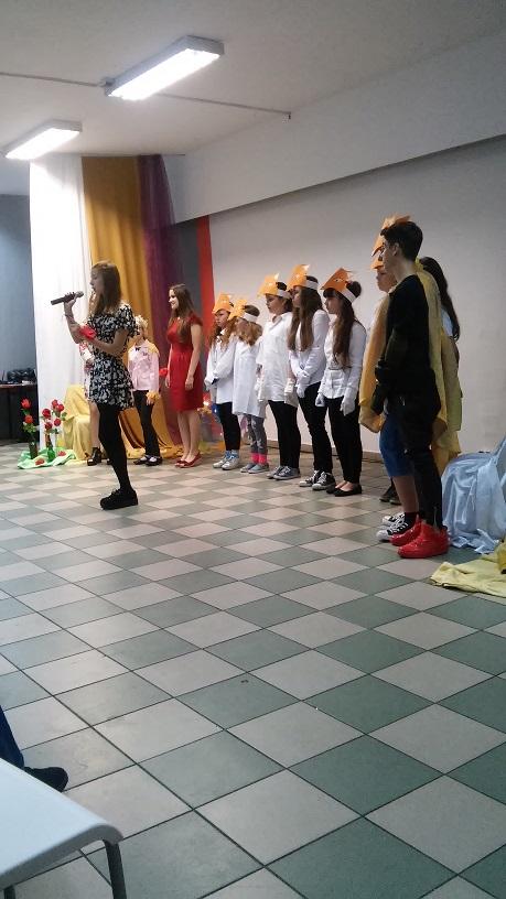 """spektakl przygotowany przez zespół teatralny """"Igła"""""""