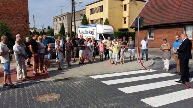 Inicjatywa sąsiedzka - otwarcie nowo wybudowanej ulicy Prusa