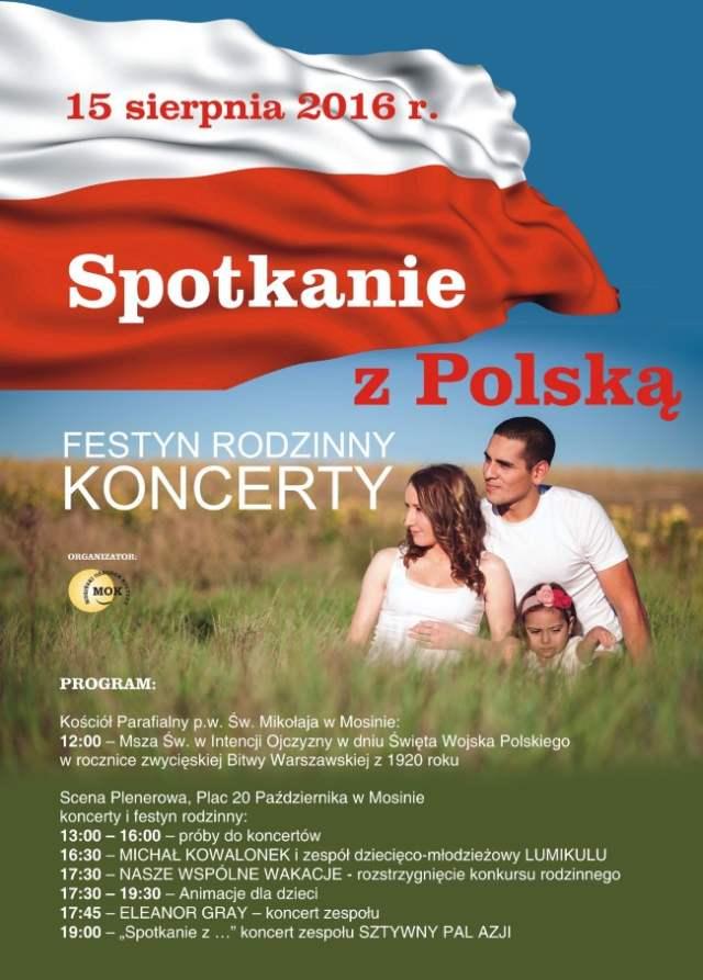 Spotkanie z Polską na mosińskim rynku