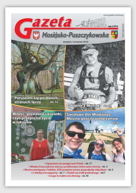 sierpień - wrzesień  wydanie Gazety Mosińsko-Puszczykowskiej
