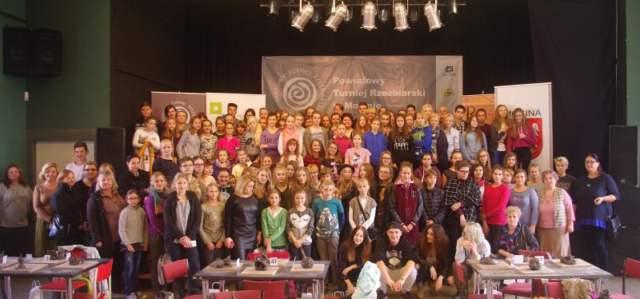 wspólna fotografia wszystkich uczestników turnieju