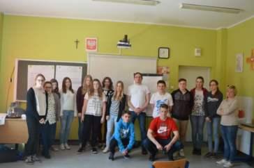wolontariusze podczas warsztatów