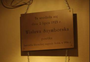 Szymborkska tabliczka