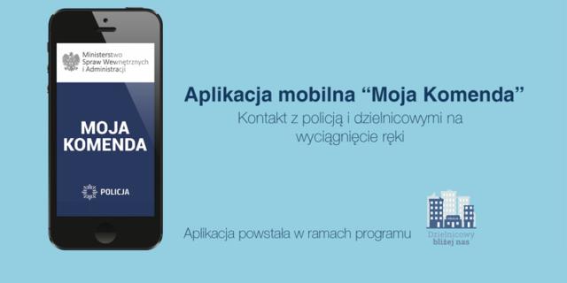 aplikacja mobilna: Moja komenda