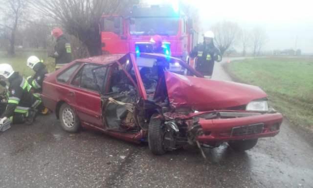 Wypadek w Borkowicach