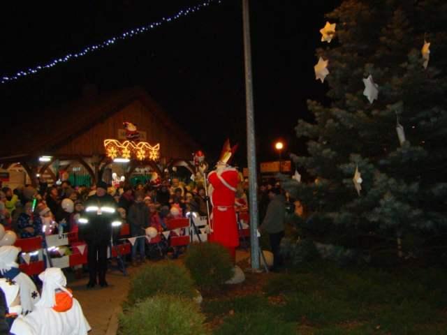 Mikołaj w Mosinie - zapalamy lampki na choince!