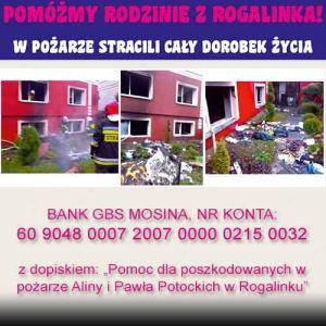 pomoc dla rodziny z Rogalinka