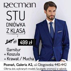 Recman - Poznań ul. Głogowska