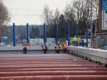 Budowa wiaduktu przy ul. Śremskiej w Mosinie