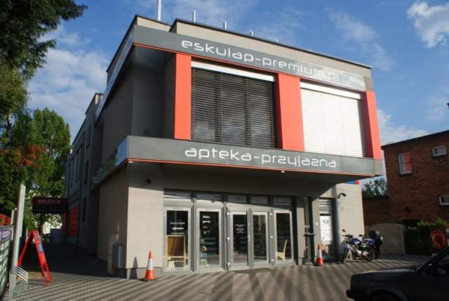 budynek ESKULAP-a w Mosinie - projekt firmy p. Renaty