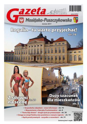 Marzec 2017 - wydanie Gazety Mosińsko-Puszczykowskiej