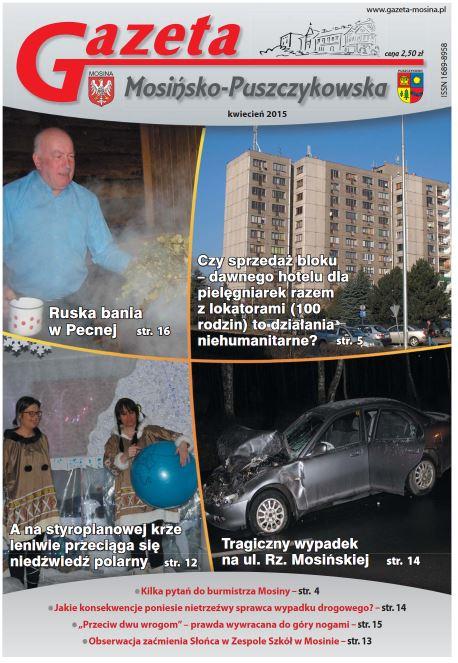 najnowsze wydanie Gazety Mosińsko-Puszczykowskiej