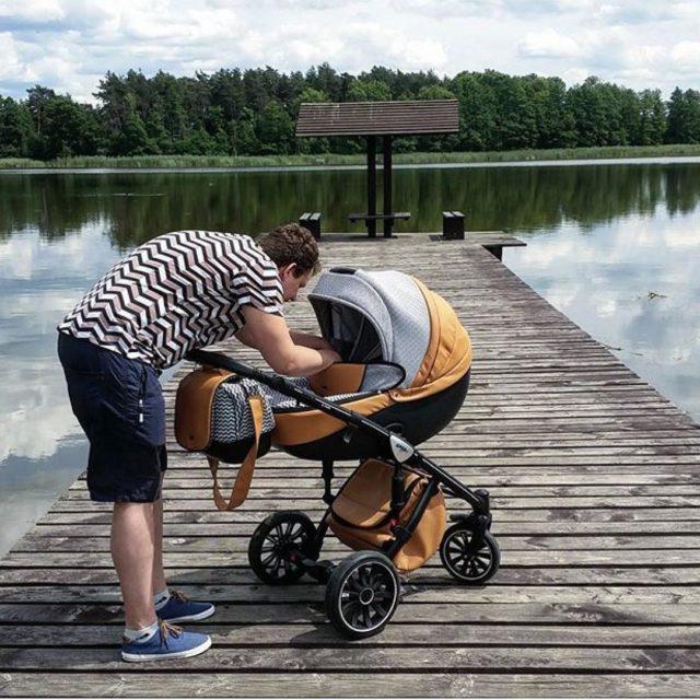 nowoczesny wózek dziecięcy anex sport