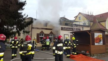 pożar w Puszczykowie