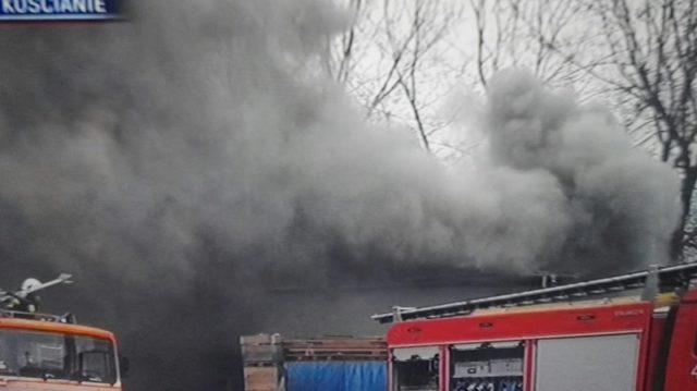 Pożar w Czempiniu fot. PSP w Kościanie