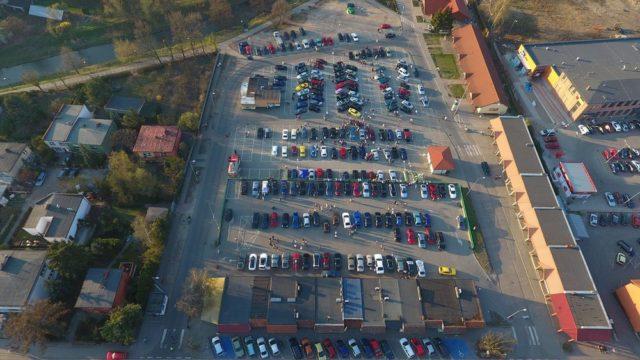 Mosińskie Spoty Samochodowe - zdjęcie z drona