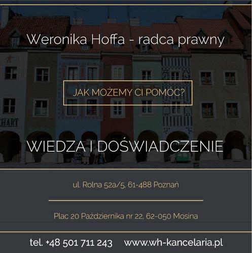 Weronika Hoffa - Radca prawny Mosina